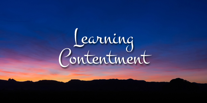 LearningContentment